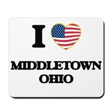 I love Middletown Ohio Mousepad