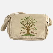 Free Tree Hugs Messenger Bag