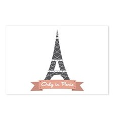 Only In Paris Postcards (Package of 8)