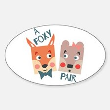A Foxy Pair Decal