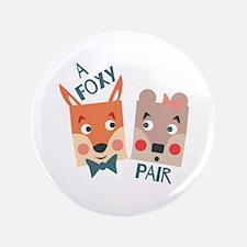 A Foxy Pair Button