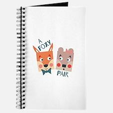 A Foxy Pair Journal