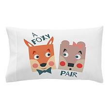 A Foxy Pair Pillow Case