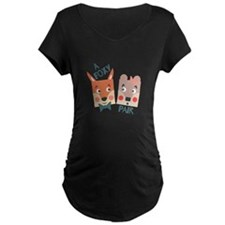 A Foxy Pair Maternity T-Shirt