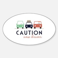 Caution New Driver Decal