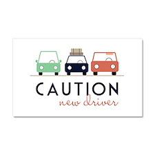 Caution New Driver Car Magnet 20 x 12