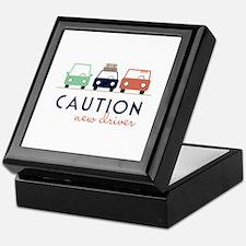 Caution New Driver Keepsake Box