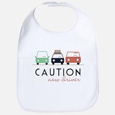 Caution New Driver Bib