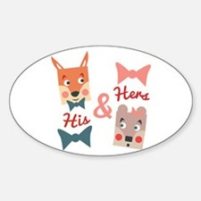 His & Hers Decal