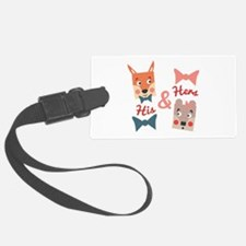 His & Hers Luggage Tag