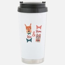 His & Hers Travel Mug