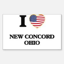 I love New Concord Ohio Decal