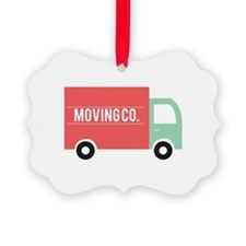 Moving Co. Ornament