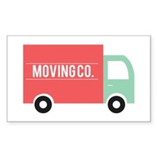 Moving Co. Decal