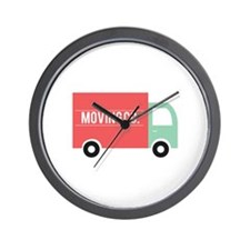 Moving Co. Wall Clock