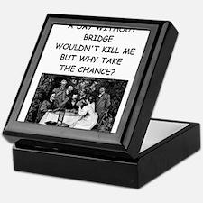Unique Bridge Keepsake Box