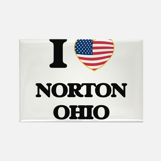 I love Norton Ohio Magnets