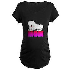 Bichon Frise Mom T-Shirt