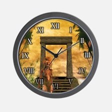 Maya Queen Wall Clock