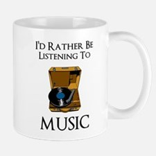 Rather Be Listening Mugs