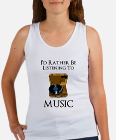 Rather Be Listening Tank Top