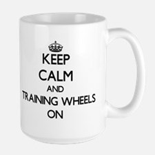 Keep Calm and Training Wheels ON Mugs