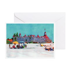 del Coronado Greeting Cards (Pk of 20)