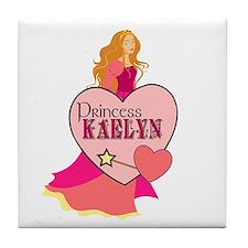 Princess Kaelyn Tile Coaster