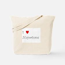 I Love Nuyoricans Tote Bag
