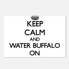 Keep Calm and Water Buffa Postcards (Package of 8)