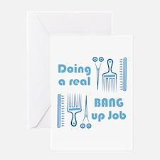 Bang Up Job Greeting Cards