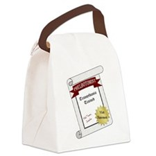 Transylvania Trained Canvas Lunch Bag