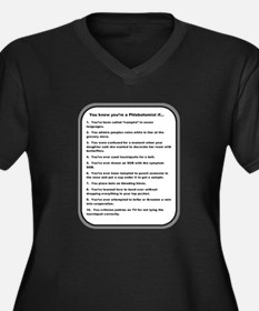 You Know Youre A Phlebotomist If... Plus Size T-Sh
