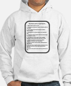 You Know Youre a Lab Tech if... Hoodie