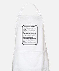 You Know Youre a Lab Tech if... Apron