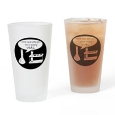 You're Simply Vial! Drinking Glass