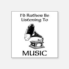 Rather Be Listening Sticker