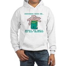 Go Eat Worms Hoodie