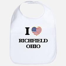 I love Richfield Ohio Bib