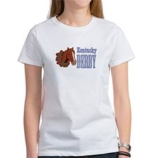 Horse Wreath Kentucky Derby T-Shirt