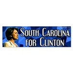 South Carolina for Clinton bumper sticker