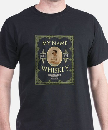 Personalized Irish Whiskey Label T-Shirt