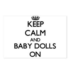 Keep Calm and Baby Dolls Postcards (Package of 8)