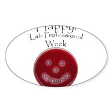 I am a Lab Tech Decal