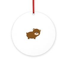 Little Bear Ornament (Round)