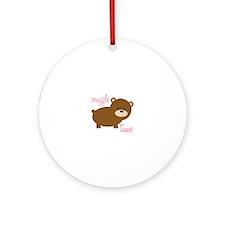 Snuggle Time Ornament (Round)