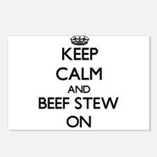 Keep Calm and Beef Stew O Postcards (Package of 8)
