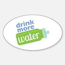 Drink More Water Decal