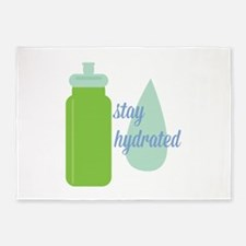 Stay Hydrated 5'x7'Area Rug