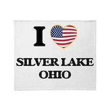 I love Silver Lake Ohio Throw Blanket